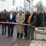 Inauguration des travaux de requalification de la traversée de Bourmont, 18 janvier 2008