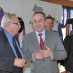 Amicale des maires du canton de Clefmont, le 31 janvier 2009, avec Jean Schwab