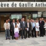 """Inauguration de l'hopital """"Geneviève de Gaulle Anthonioz"""", à Saint-Dizier le 9 juillet 2009"""