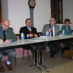 Lors de l'Amicale des maires des cantons de Neuilly l'Evêque et de Terrer Natale, le 26 février 2010 à Celsoy