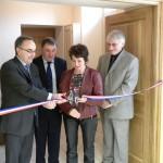 Inauguration des travaux de la mairie de Crenay, le 27 mars 2010