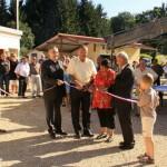 Inauguration des vestiaires de football de Neuilly l'Evêque, le 11 septembre 2010