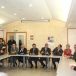 Visite du Ministre Michel Mercier en Haute-Marne, à Montigny le Roi le 12 février 2010 (photo préfecture)