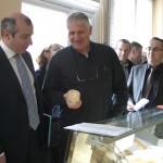 Visite du Préfet, Laurent Prévost, dans le canton de Prauthoy le 16 avril 2010