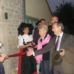 """Inauguration de l'auberge alsacienne - gite """"le nid de cigogne"""" à Dancevoir, le 15 octobre 2010"""
