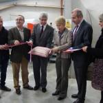 Inauguration des nouveaux chais et du caveau commercial du Muid Montsaugeonnais, le 29 octobre 2010