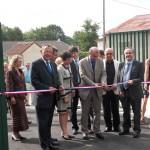 Inauguration de l'école maternelle-primaire de Voillecomte, le 28 août 2010
