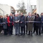 Inauguration de la station d'épuration de Chalindrey - Culmont - Torcenay (SITEU), le 5 novembre 2010