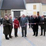 Inauguration de la médiathèque de Manois