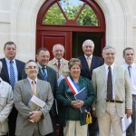 Inauguration de la mairie d'Ambonville