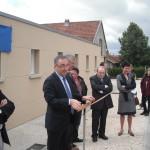 Inauguration de l'Ecole du Pailly