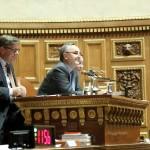 Première présidence de séance au Sénat, le 25 octobre 2011