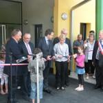 inauguration du Groupe scolaire de Parnoy en Bassigny