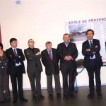 Inauguration école de Provenchères sur Meuse, le 13 janvier 2012