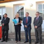 Rançonnières : inauguration de l'enfouissement des réseaux électrique, le 14 septembre 2012 (Marie-France Aptel)
