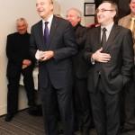 Avec Alain Juppé, au Salon des élus locaux d'aquitaine, Palais des Congrès de Bordeaux, le 18 février 2012 (photo Aimie Bidault)