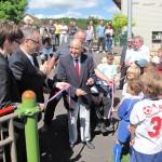 inauguration du stade Sylvain Jannaud à Prauthoy, le 23 juin 2012