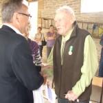 Aprey : remise de médailles d'Honneur Régionale, Départementale et Communale, le 25 août 2012