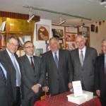 Avec (de g à dr) Jean-René Lecerf, Gérard Larcher, Jacques Legendre, Pierre André et Alain Gournac
