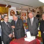 Avec (de g à dr) Jean-René Lecerf, Gérard Larcher, Jacques Legendre et Pierre André