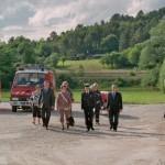 Bricon : Inauguration des vestiaires de foot et de la caserne des pompiers, le 6 juillet 2012