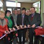 inauguration des nouveaux locaux du Pôle Enfance CC Pays de Chalindrey, le 11 février 2012