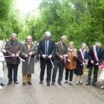 le 25 mai 2013, à EPIZON, inauguration de la création de cette nouvelle commune