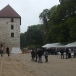 le 31 mai 2013, à VIGNORY, inauguration du Donjon du Château médiéval