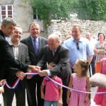le 31 août 2013, à DOMMARIEN, inauguration de la nouvelle mairie