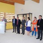 le 7 septembre 2013, à FOULAIN, inauguration du nouveau groupe scolaire