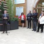Le 27 septembre 2013, à ARC EN BARROIS, inauguration du Relais Service