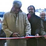 """Le 22 novembre 2013, à GONCOURT, inauguration de la médiathèque """"maison des Goncourt"""""""