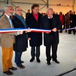 Le 23 novembre 2013, à ROLAMPONT,  inauguration de l'hôtel d'entreprise de la Communauté de Communes du Grand Langres
