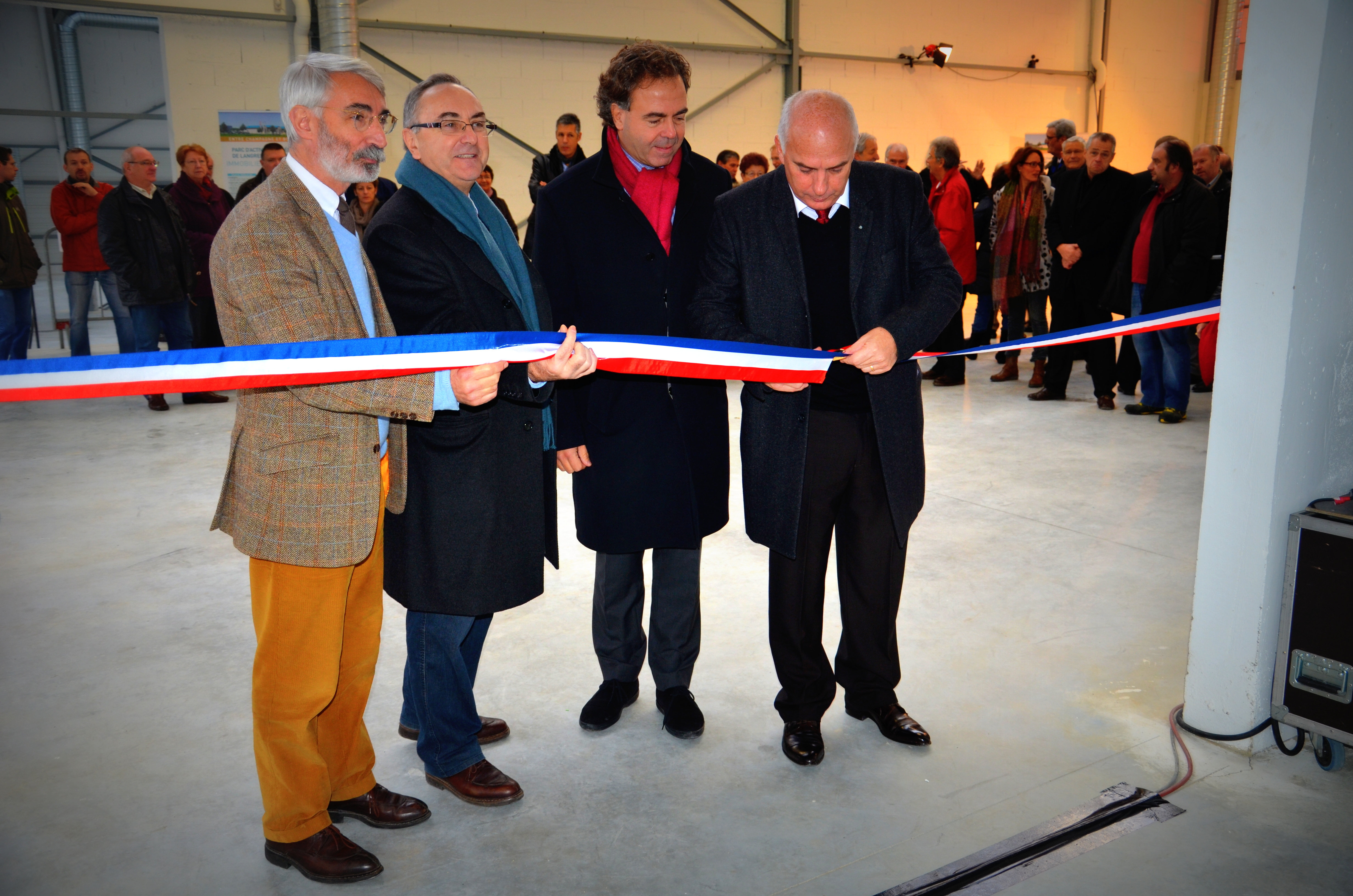 pour Charles Guene inauguration Rolampont
